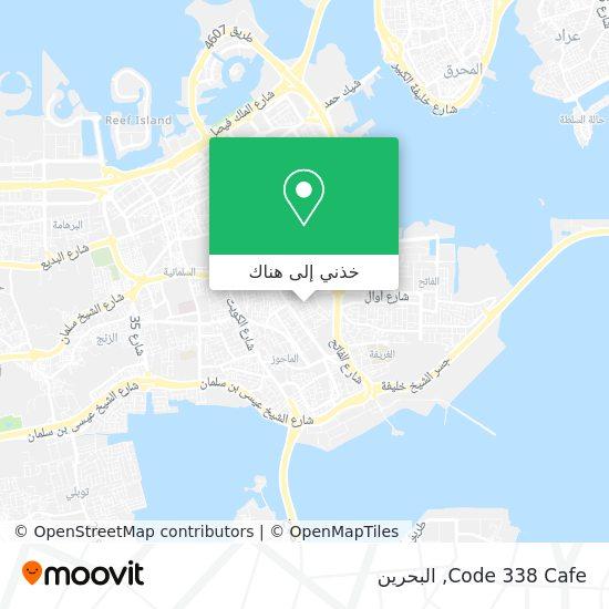 خريطة Code 338 Cafe