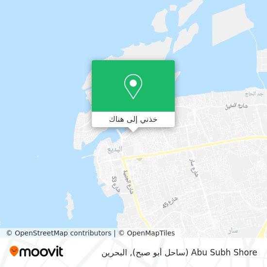 خريطة Abu Subh Shore (ساحل أبو صبح)