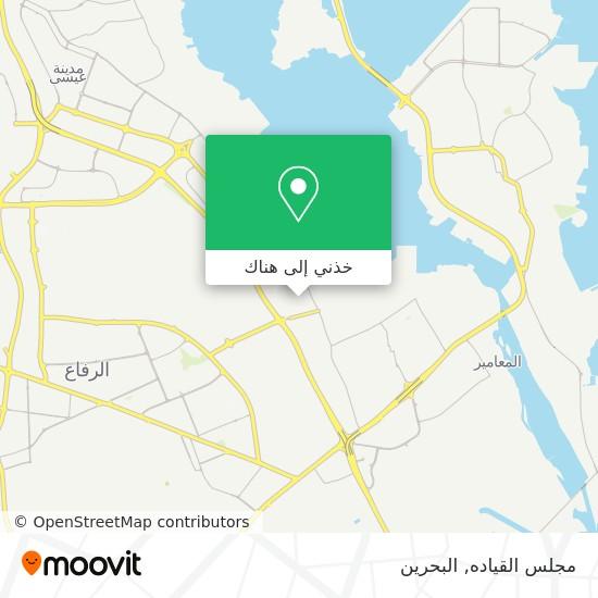 خريطة مجلس القياده