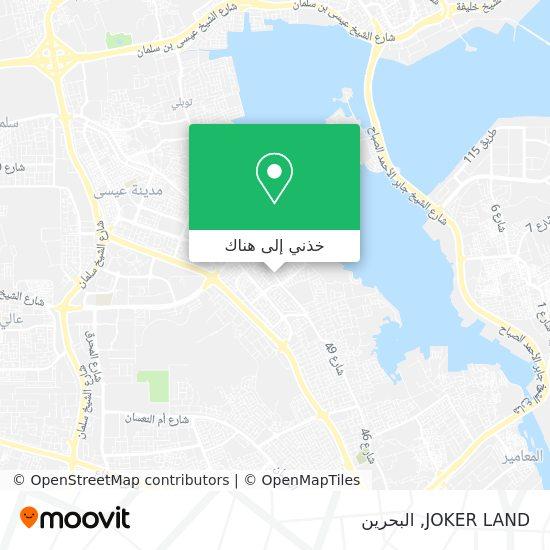 خريطة JOKER LAND