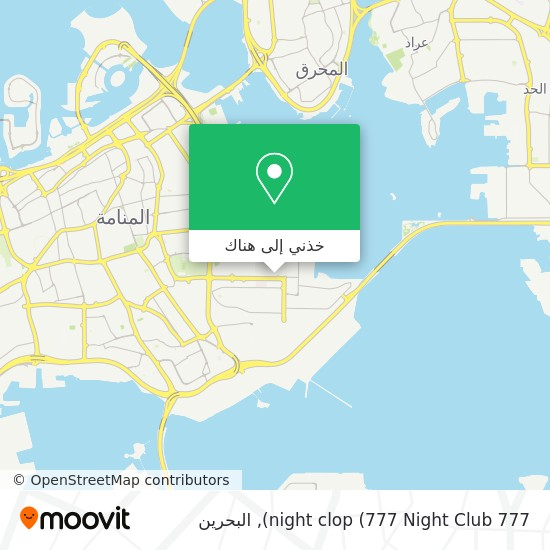 خريطة 777 night clop (777 Night Club)