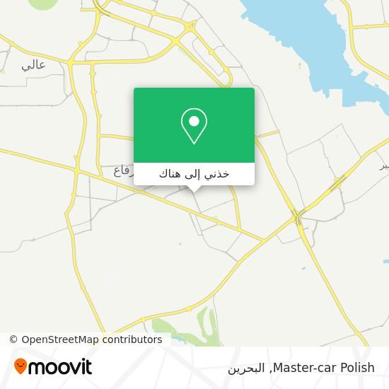 خريطة Master-car Polish