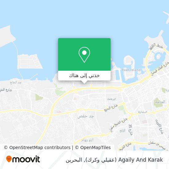 خريطة Agaily And Karak (عقيلي وكرك)