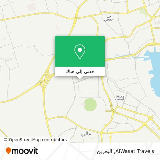 خريطة AlWasat Travels
