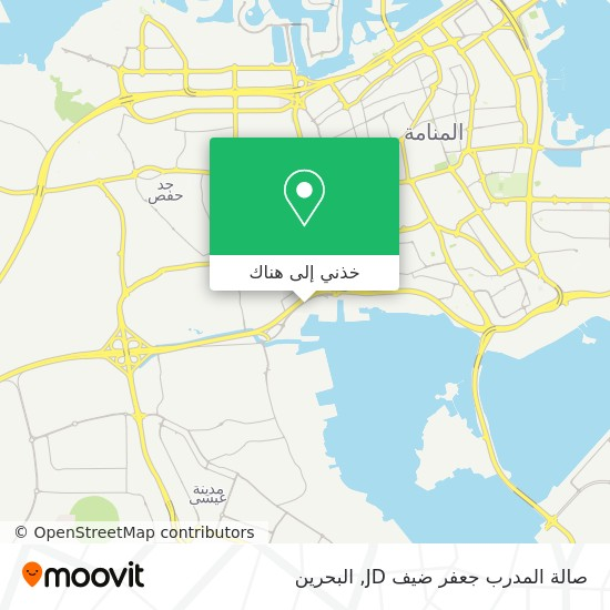 خريطة صالة المدرب جعفر ضيف JD