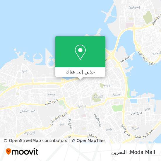 خريطة Moda Mall