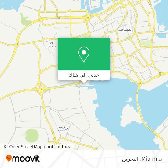 خريطة Mia mia