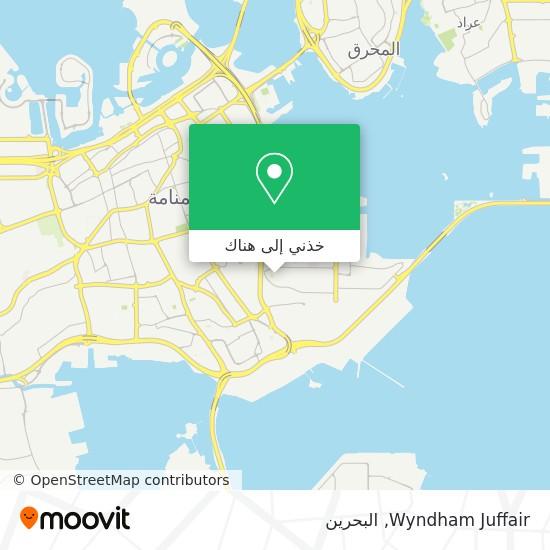 خريطة Wyndham Juffair