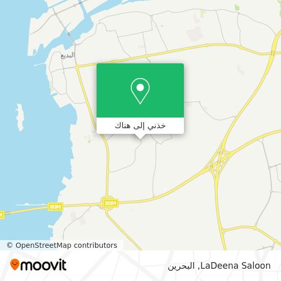 خريطة LaDeena Saloon