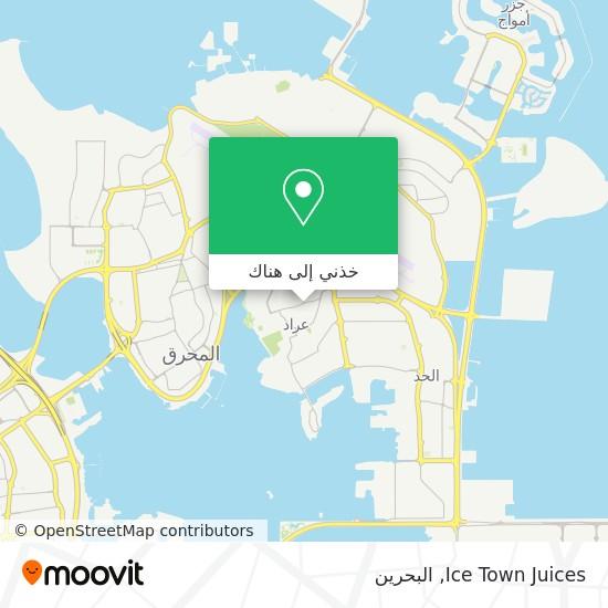 خريطة Ice Town Juices