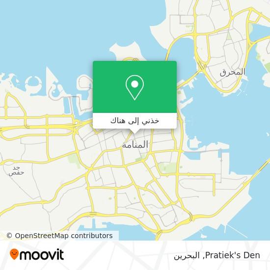 خريطة Pratiek's Den