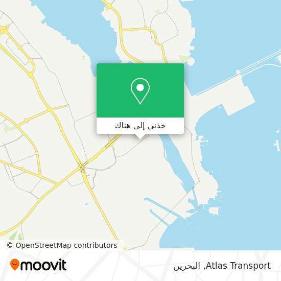 خريطة Atlas Transport