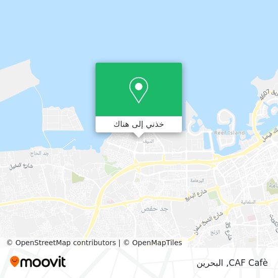 خريطة CAF Cafè