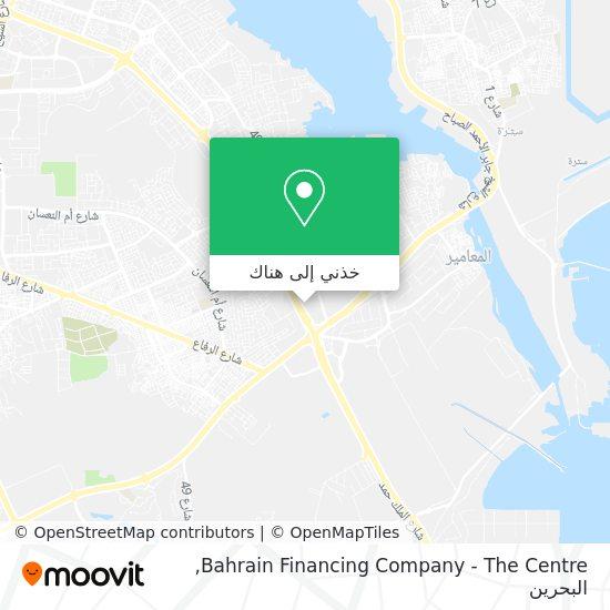 خريطة Bahrain Financing Company - The Centre