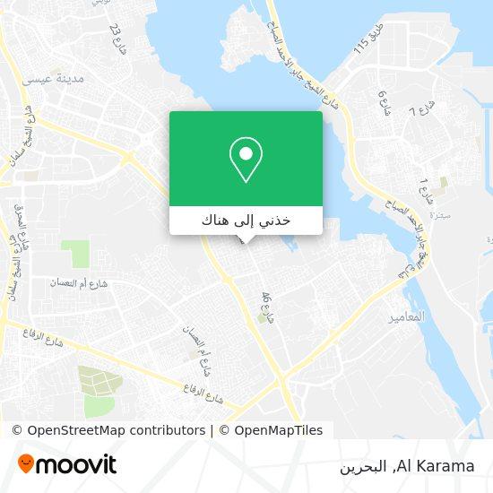 خريطة Al Karama