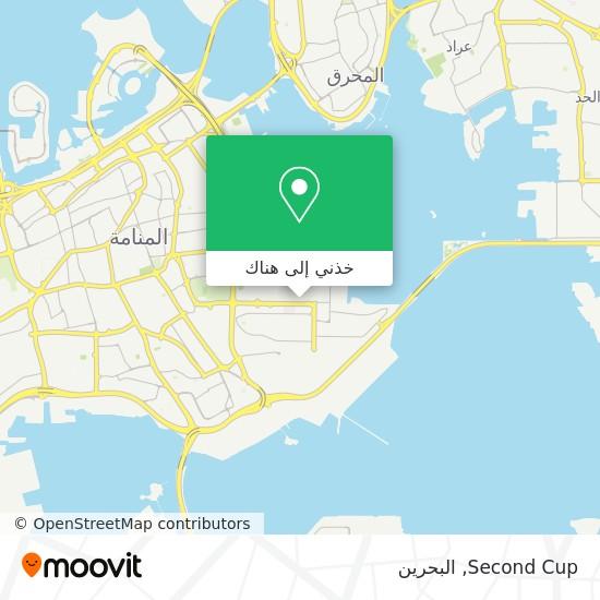 خريطة Second Cup
