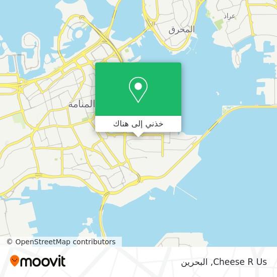 خريطة Cheese R Us