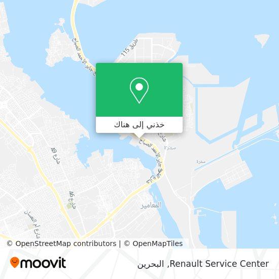 خريطة Renault Service Center