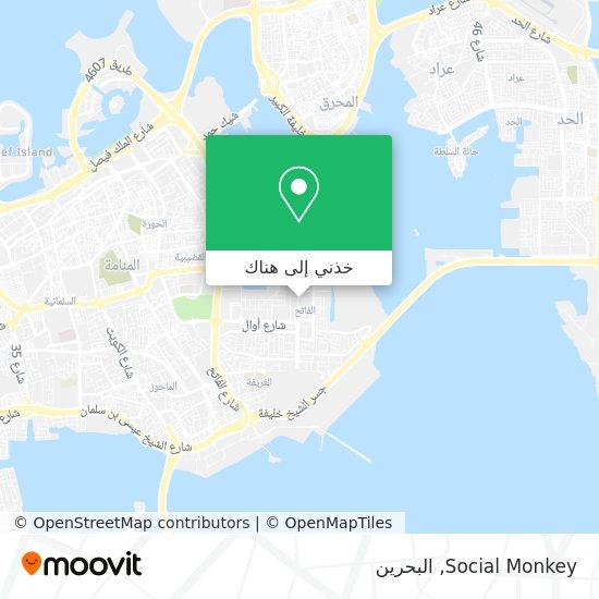 خريطة Social Monkey