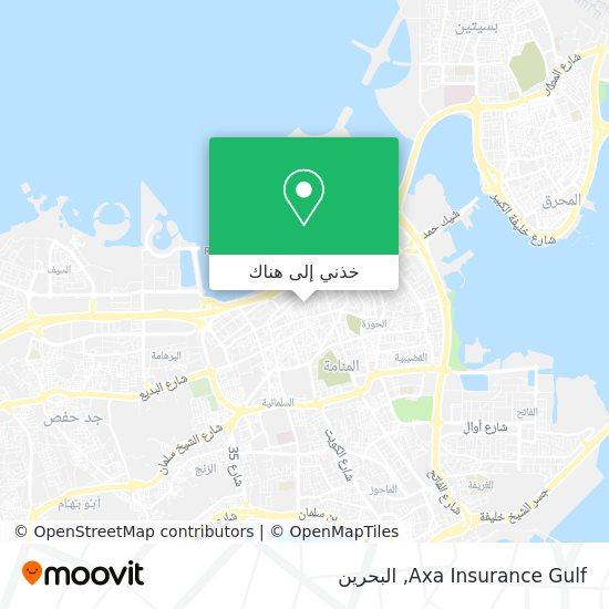 خريطة Axa Insurance Gulf