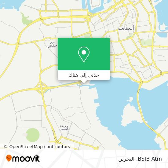خريطة BSIB Atm