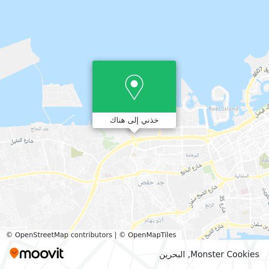 خريطة Monster Cookies