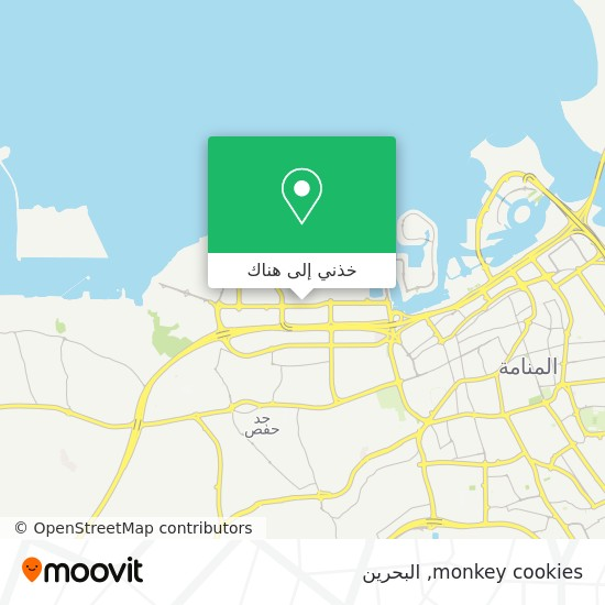 خريطة monkey cookies
