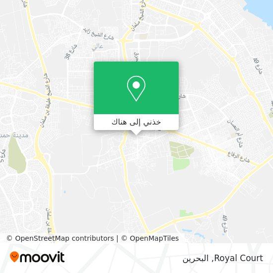 خريطة Royal Court