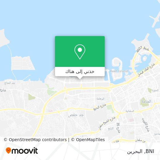 خريطة BNI