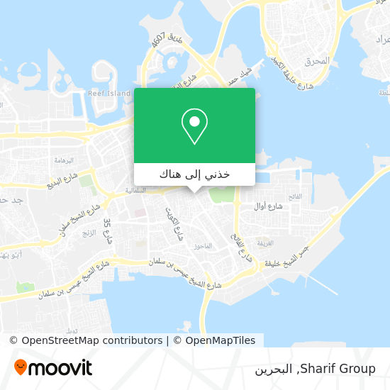 خريطة Sharif Group
