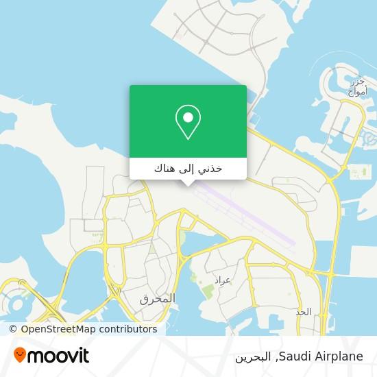 خريطة Saudi Airplane
