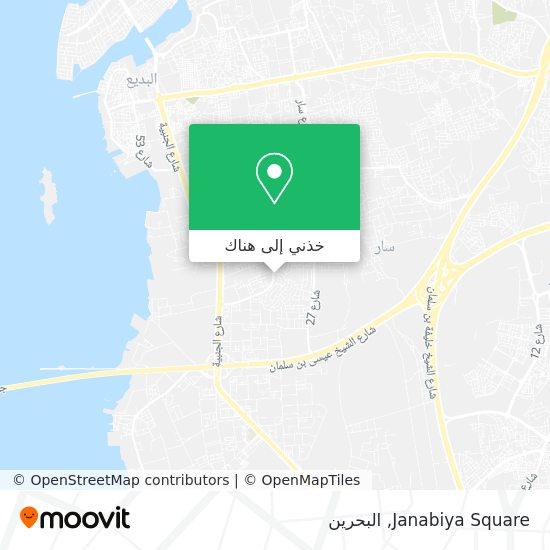 خريطة Janabiya Square