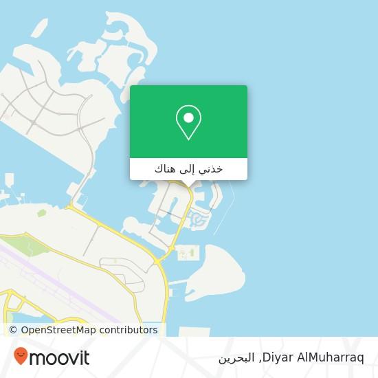 خريطة Diyar AlMuharraq