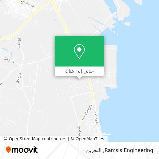 خريطة Ramsis Engineering