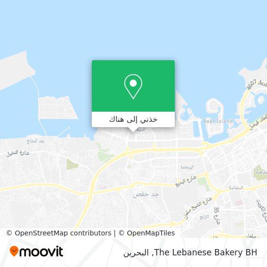 خريطة The Lebanese Bakery BH