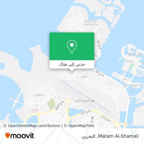 خريطة Matam Al-Shamali