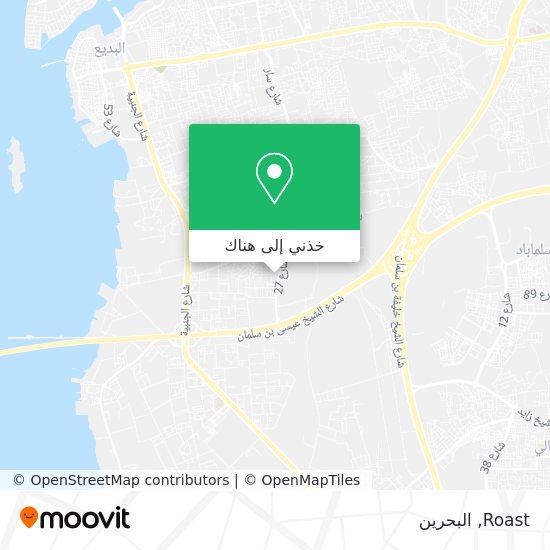 خريطة Roast