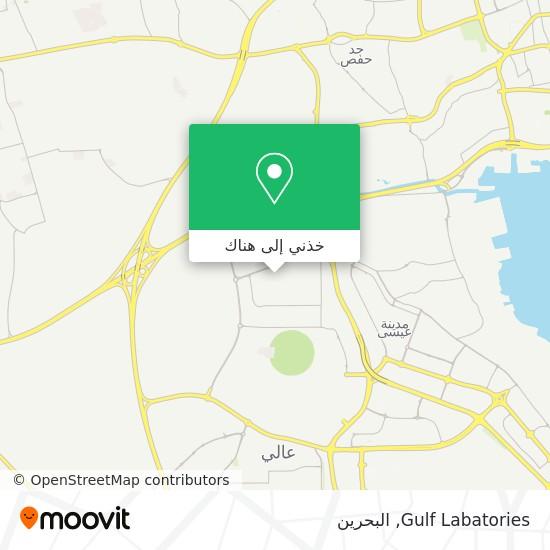 خريطة Gulf Labatories