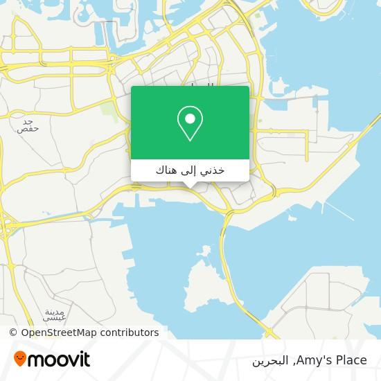 خريطة Amy's Place