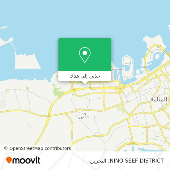 خريطة NINO SEEF DISTRICT