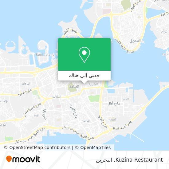 خريطة Kuzina Restaurant