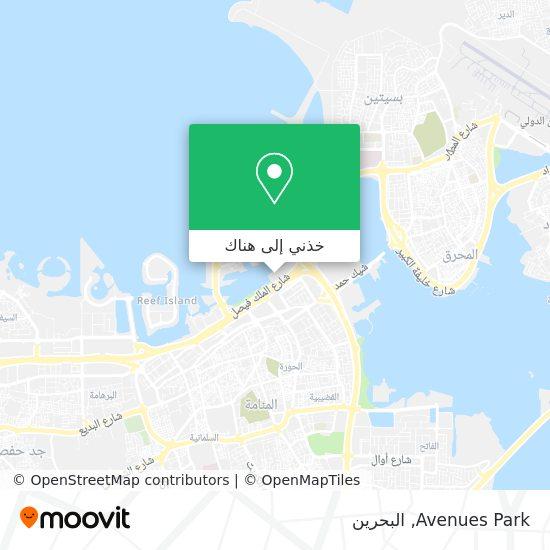 خريطة Avenues Park