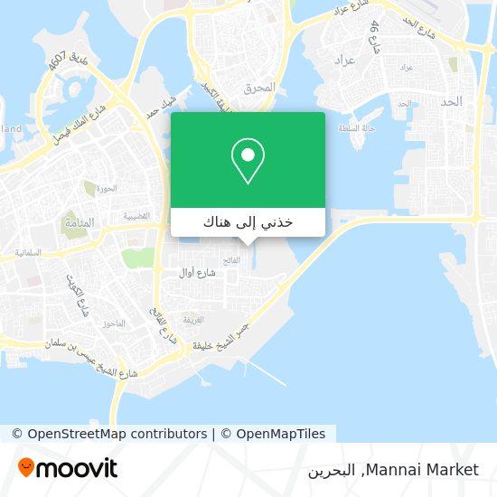 خريطة Mannai Market