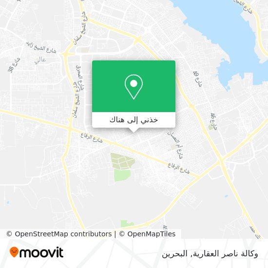 خريطة وكالة ناصر العقارية