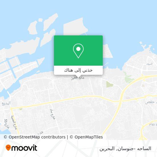خريطة الساحه -جنوسان