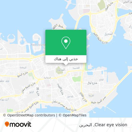 خريطة Clear eye vision