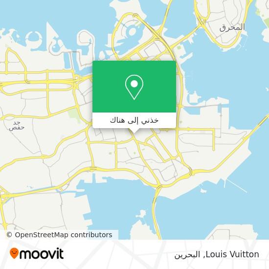 خريطة Louis Vuitton