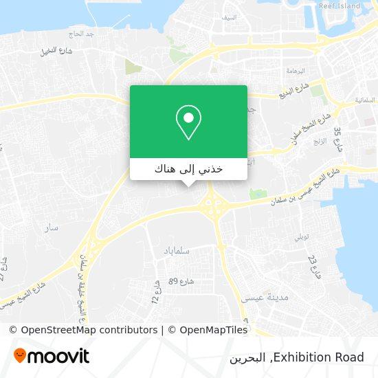 خريطة Exhibition Road