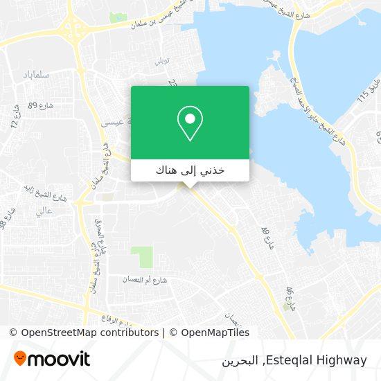 خريطة Esteqlal Highway