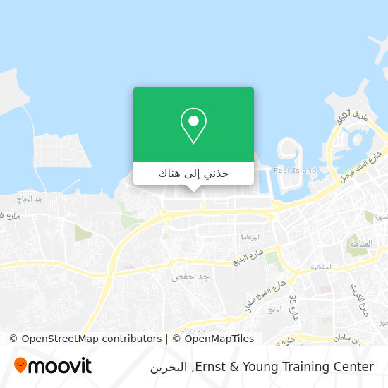 خريطة Ernst & Young Training Center